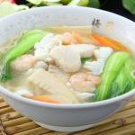 海鮮入り麺